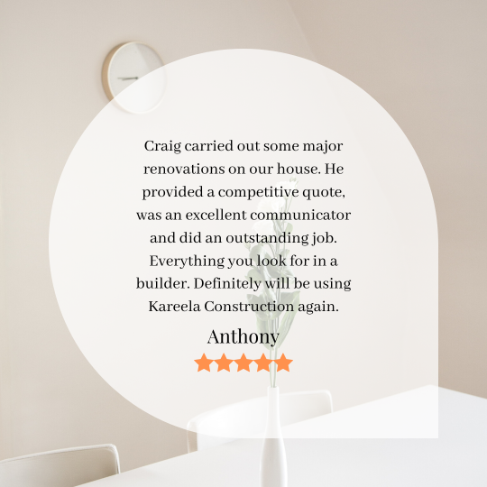 A Great Review of our Renovation Services photo